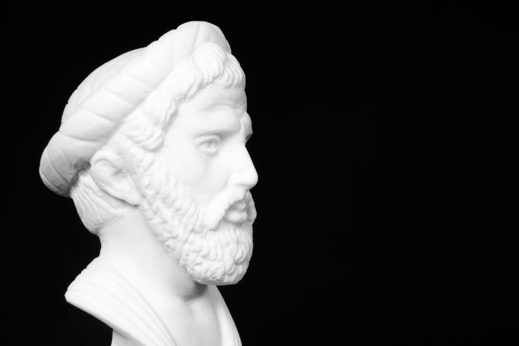statue de Pythagore